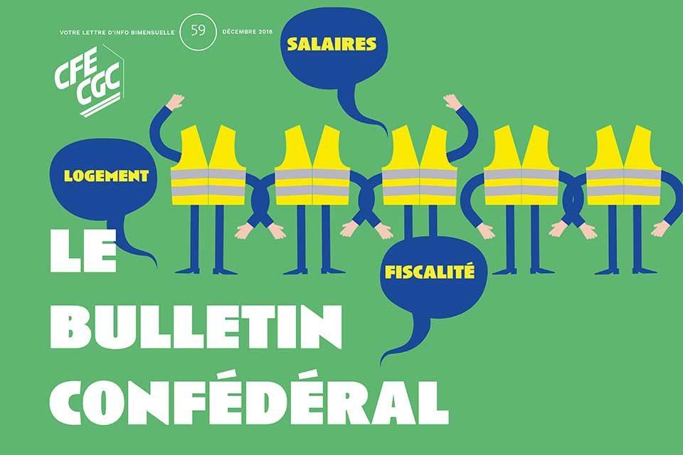 Le Bulletin Confédéral n°59