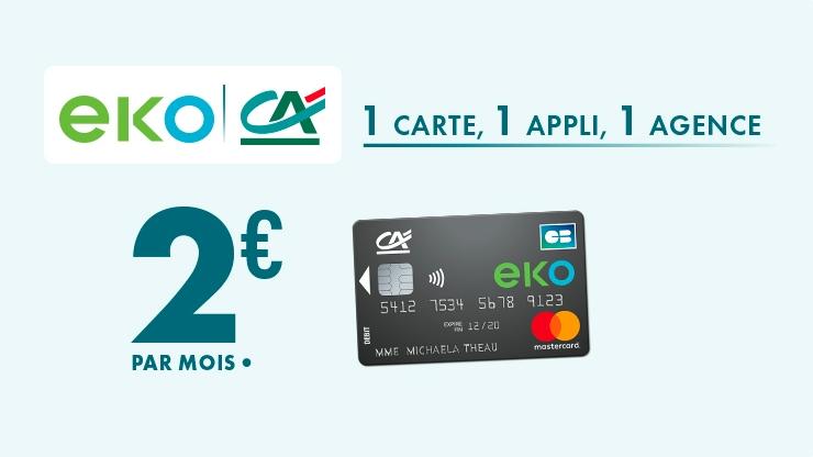 Crédit Agricole EKO à 2 euros : un « succès technologique, marketing et commercial »