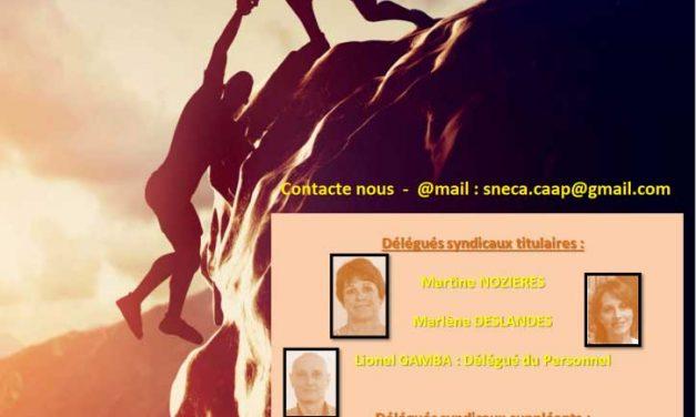 Votre équipe SNECA CGC – CAAP –