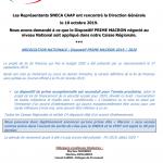 Info CAAP : Prime Macron