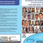 Les candidats SNECA aux élections professionnelles de CA Alpes Provence